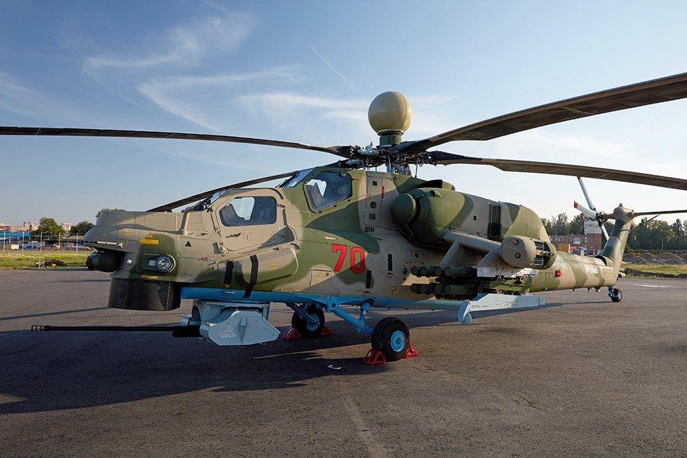 Минобороны оснастит ударные вертолеты дальнобойной управляемой ракетой
