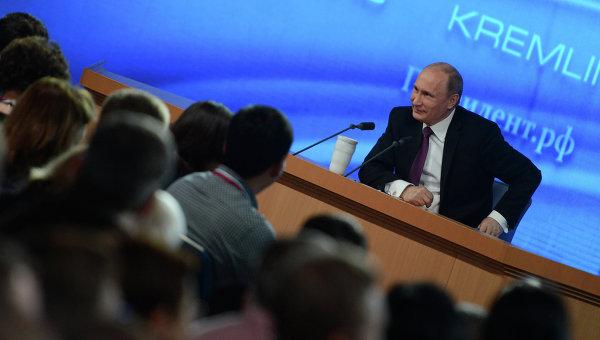 ВЦИОМ: Большинство жителей России довольны ответами Владимира Путина на прямой линии