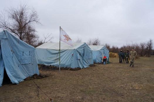 Под Астраханью казаки готовятся к походу в Севастополь - его начало на Мамаевом кургане
