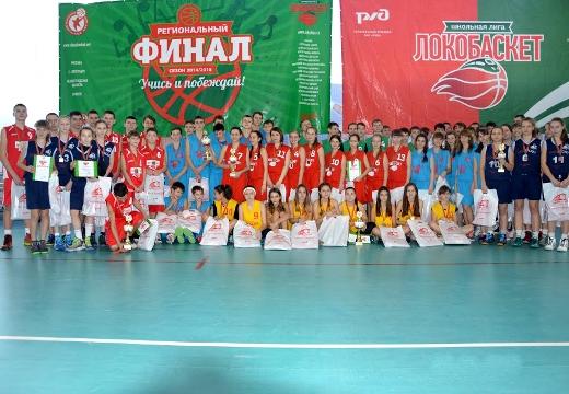 Баскетболистки школы №14 Волжского чемпионки школьной лиги