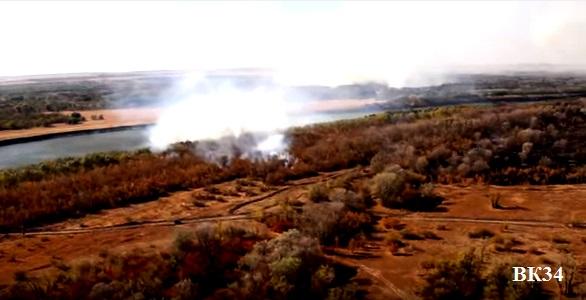 23 гектара лиственного леса серьезно пострадало от огня в Серафимовичском районе Волгоградской области