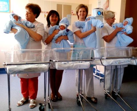 Мальчиков в Волгоградской области рождается больше, чем девочек