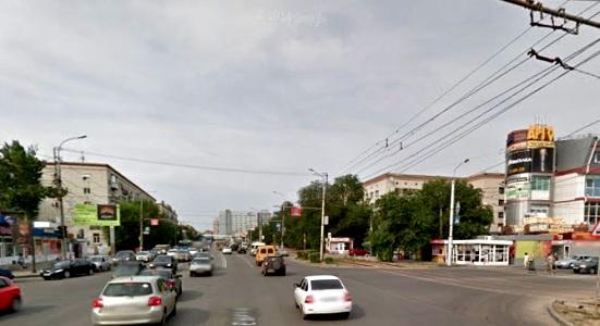 В Волгограде схема движения на