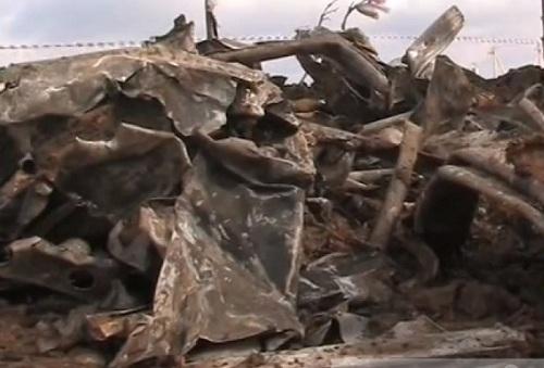 В Средней Ахтубе найден немецкий самолет с останками летчика и бомбой