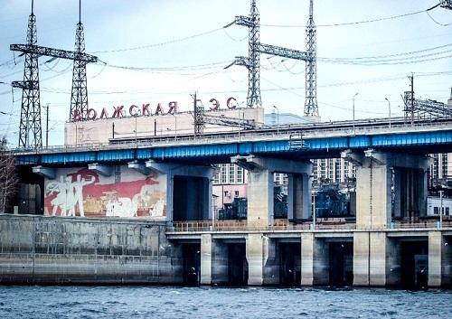 Волжская ГЭС выработала на 25% процентов больше электроэнергии, чем в прошлом году