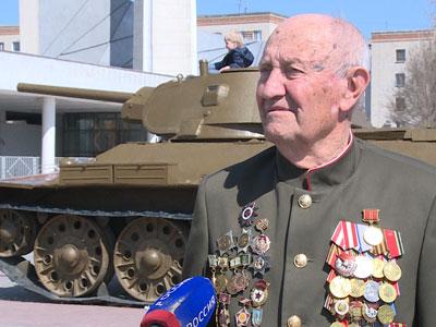 Волгоградец участник Сталинградской Битвы Евгений Федорович Рогов отбыл на Парад Победы в Москву