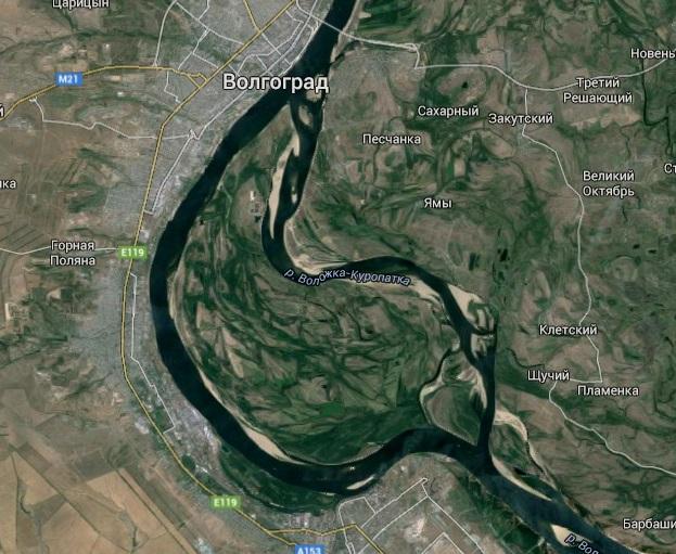 На остров Сарпинский под Волгоградом поступит два миллиона кубометров воды