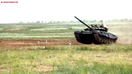На полигоне Прудбой сегодня начинается  «Танковый биатлон» и «Суворовский натиск»