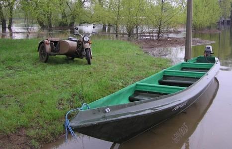 На 13 апреля сброс воды на Волжской ГЭС составил 4730 кубометров в секунду