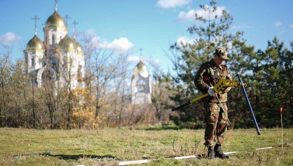 Саперы ЮВО с начала этого года обезвредили свыше шести тонн боеприпасов времен Великой Отечественной