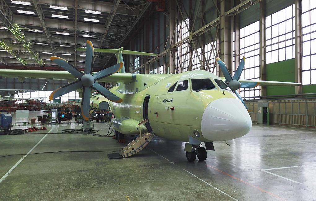 Воронежский авиазавод будет выпускать по 15 самолетов Ил-112В в год