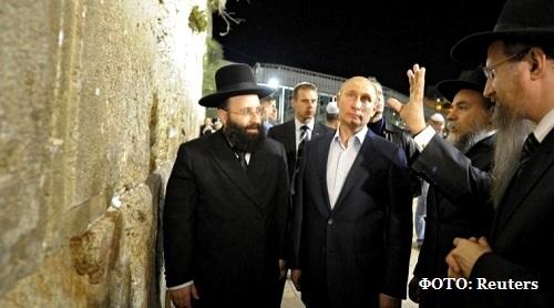 Израильтяне выбрали Путина человеком года