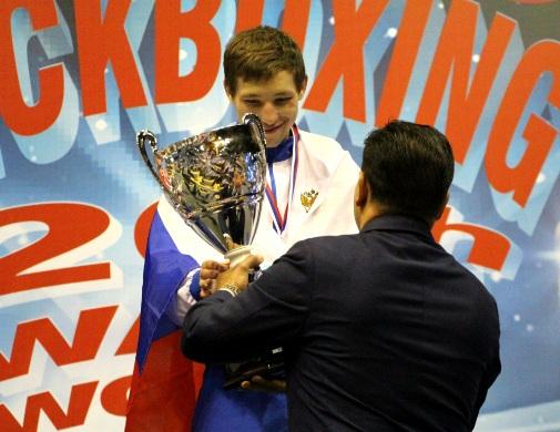 Наш земляк Артем Жигайлов чемпион мира по кикбоксингу