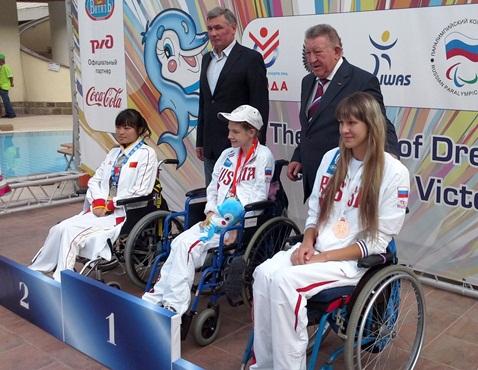 Волгоградские пловцы завоевали десять медалей на Всемирных Играх ампутантов и колясочников