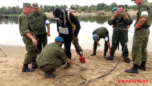 В учебном центре инженерных войск в  Волжском более 1000 младших специалистов сдают выпускные экзамены