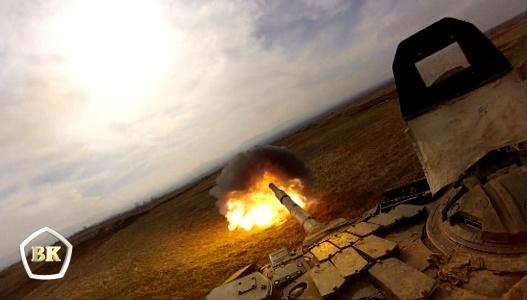 Окружной этап танкового биатлона завершается 1 апреля на полигоне Прудбой в Волгоградской области