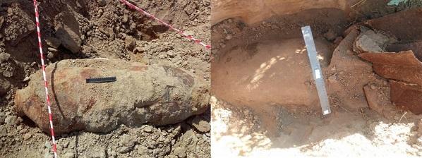 В минувшие выходные в Волгоградской области обнаружены две авиационные бомбы времен Великой Отечественной
