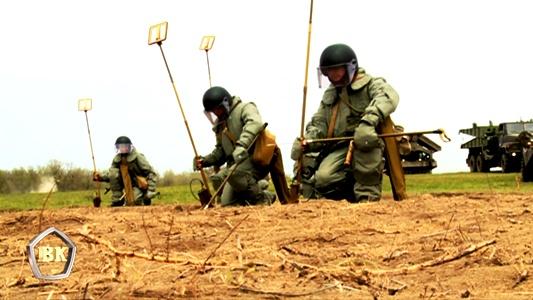 С начала года саперы ЮВО в Волгограде уничтожили свыше 5000 боеприпасов времен ВОВ
