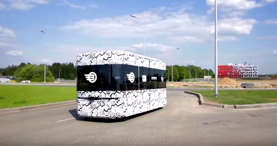 В Москве во время ЧМ-2018 планируется использовать беспилотные автобусы Volgabus