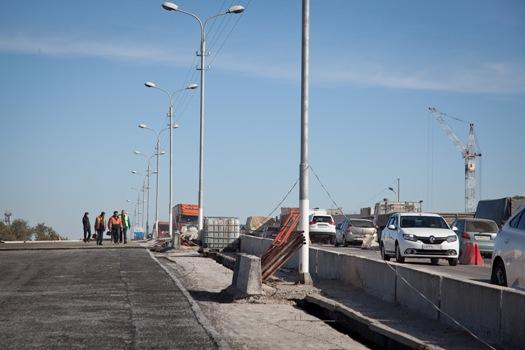 На Самарском путепроводе в Волгограде движение пустили по всем полосам