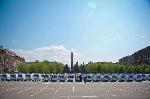 95 современных специализированных машин «скорой помощи» вышли на линии Волгограда и Волжского
