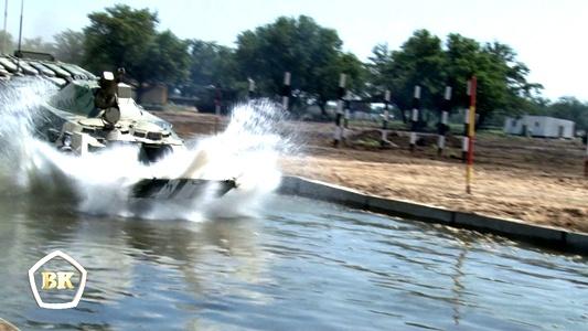 Свыше 200 военнослужащих и около 70 единиц военной техники примут участие в международных конкурсах «Безопасный маршрут» и «Инженерная формула» на Волжском полигоне