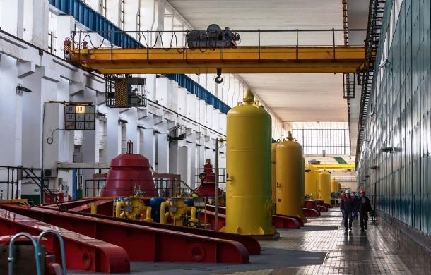 На Волжской ГЭС ремонтируют гидроагрегат  мощностью 115 МВт