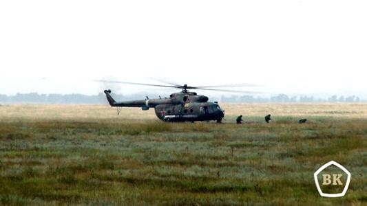 Крупномасштабные учения Национальной гвардии и Воздушно-десантных войск России прошли на полигоне Прудбой
