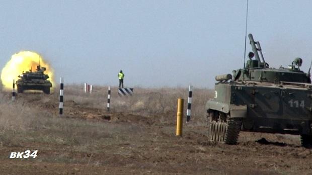 В Астраханской области открыт новый общевойсковой полигон