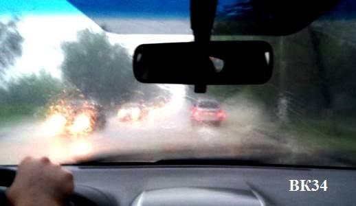 В Волгограде объявлено штормовое предупреждение