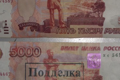 В Волгоградской области ростовчанин осужден за фальшивомонетничество