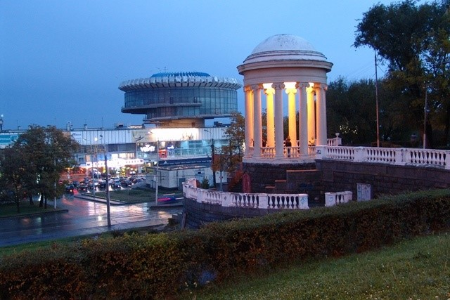 На центральной набережной Волгограда вводится круговое движение транспорта